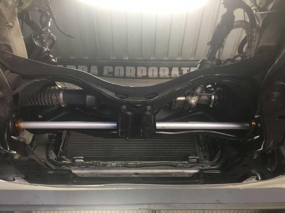 Bottom of a Car — Mechanical Workshop in Bellambi, NSW